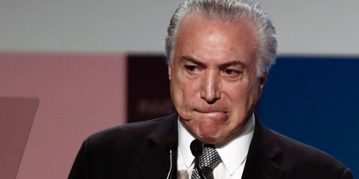 Acorralado tras fuerte denuncia por corrupción: Michel Temer trata de salvar su mandato en Brasil