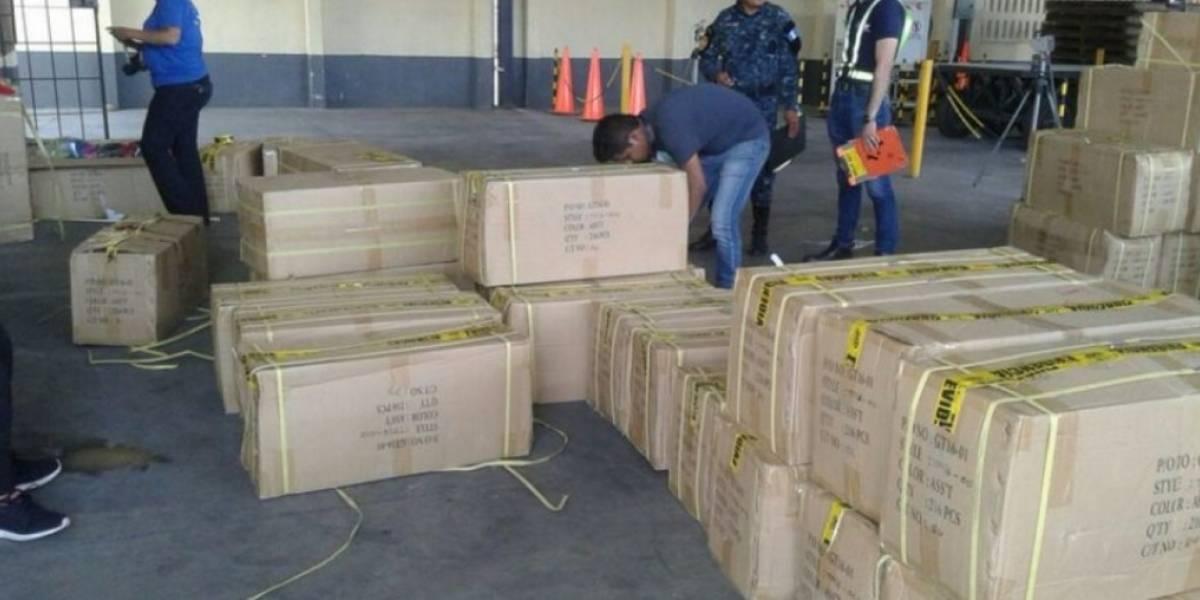 El MP incauta 7 mil 128 gorras de supuestas marcas falsificadas
