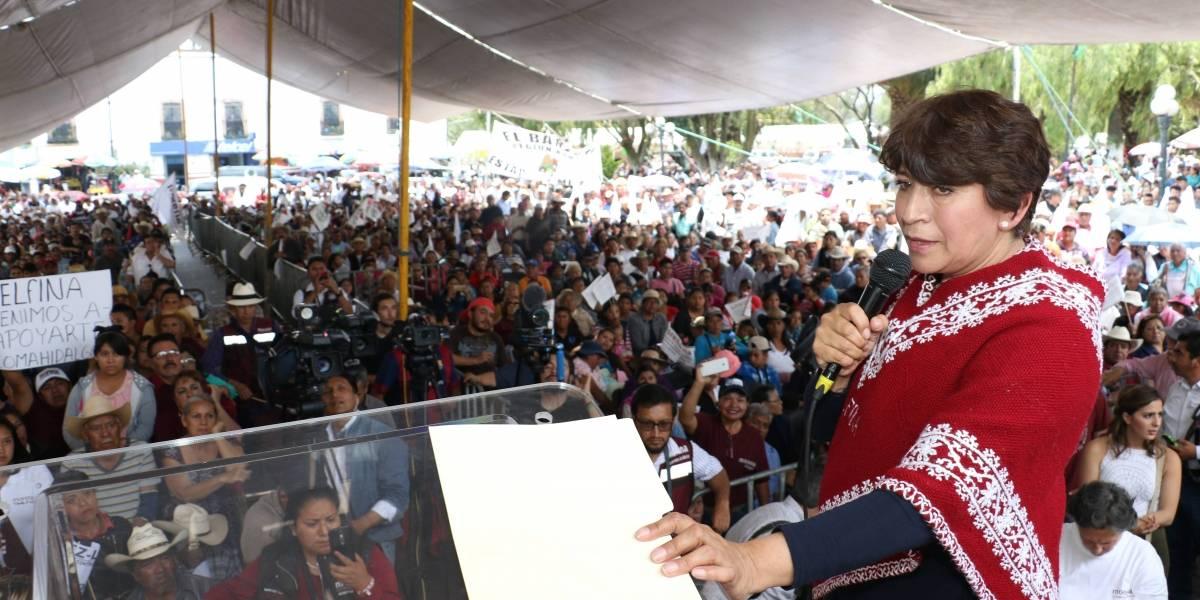 Denuncia Delfina Gómez presunto espionaje con GPS