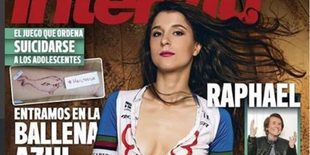 Ciclista Joana Monteiro deja al descubierto sus impresionantes curvas