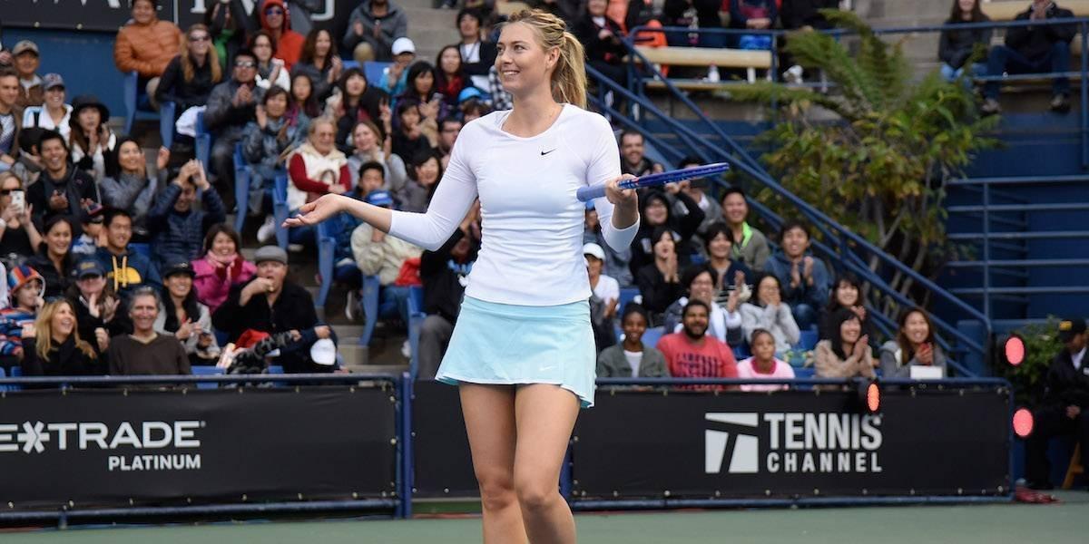Maria Sharapova se retira del torneo de Stanford