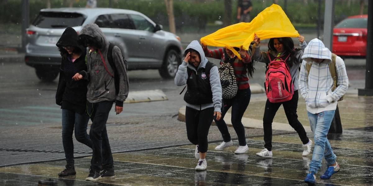 SMN pronostica tormentas fuertes en el centro y sur del país