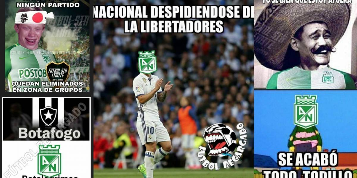 Las redes sociales no perdonaron la eliminación de Nacional en Libertadores
