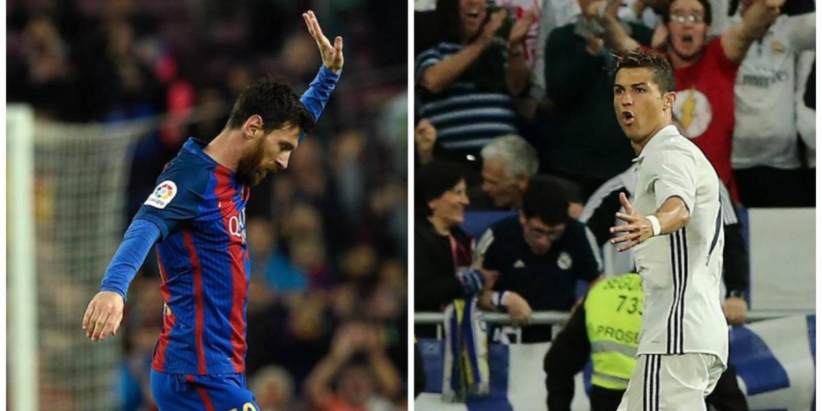 Con imágenes Messi y Ronaldo muestran su confianza cerca del final de la Liga