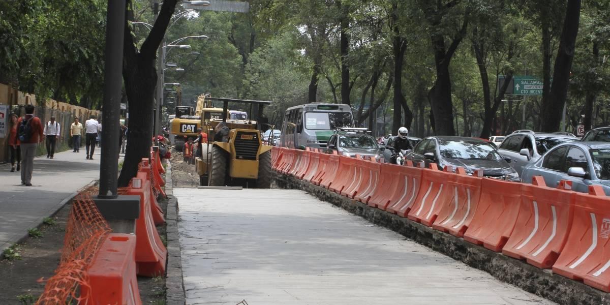 Vecinos amenazan con obstruir obras de la línea 7 del Metrobús