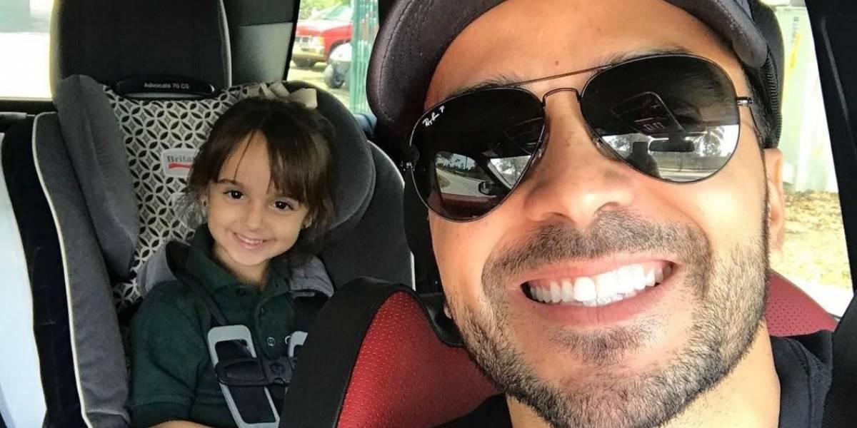 Hija de Luis Fonsi está harta de escuchar Despacito