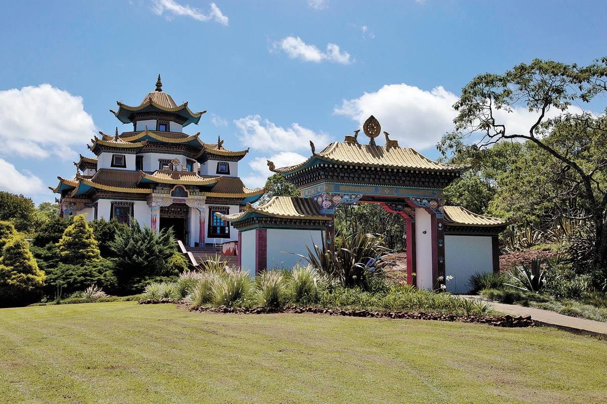 Templo fica em Três Coroas | Bruna Prado e Anassilvia Bortoluzzi