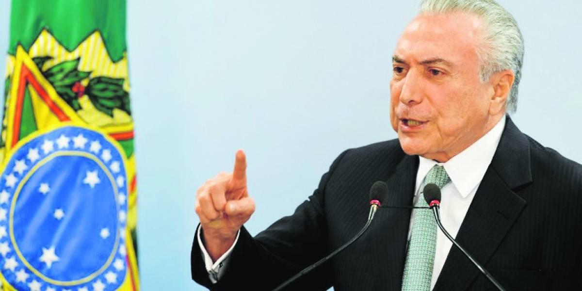 """""""No voy a renunciar"""": Michel Temer se aferra a la presidencia"""