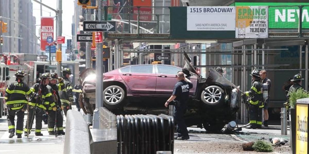 Atropello masivo en Time Square, Nueva York: un muerto y al menos 22 personas resultaron heridas