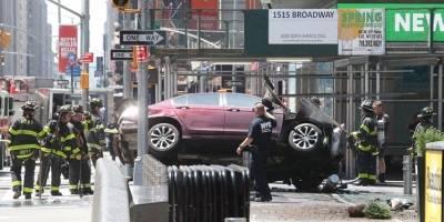 Atropello masivo en Time Square Nueva York al menos 19 personas resultaron heridas