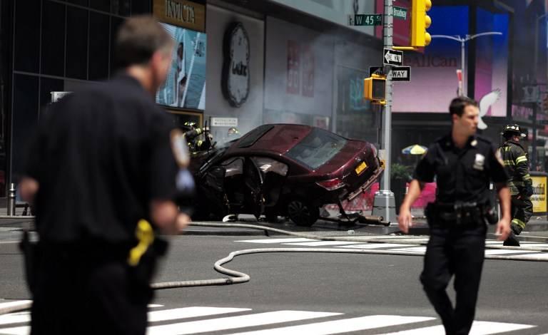 Video del asesino de Times Square