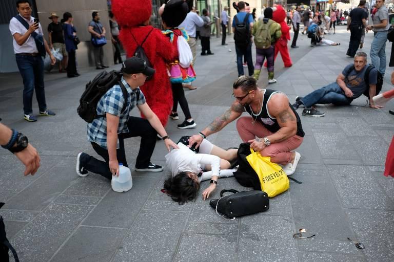 Identifican a víctima de accidente automovilístico en Times Square