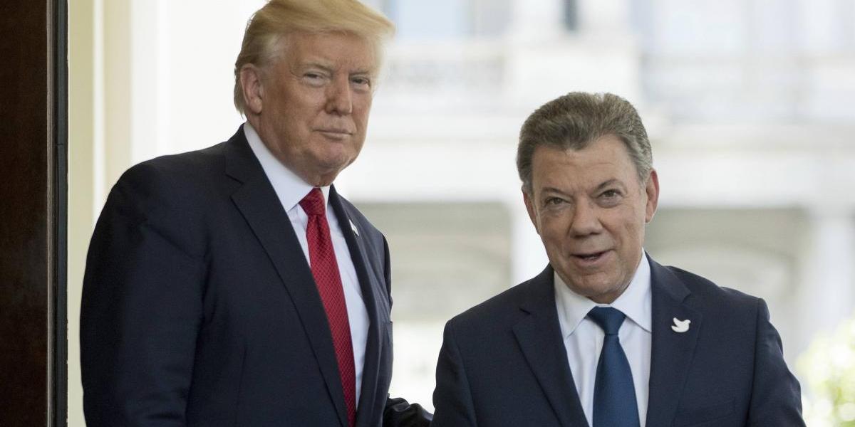 Venezuela y narcotráfico marcan la agenda de la reunión Trump - Santos