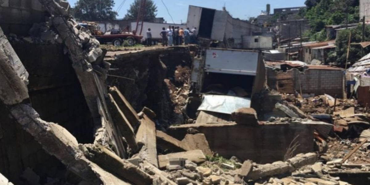 Deslave en Villa Nueva causa la muerte a 10 personas