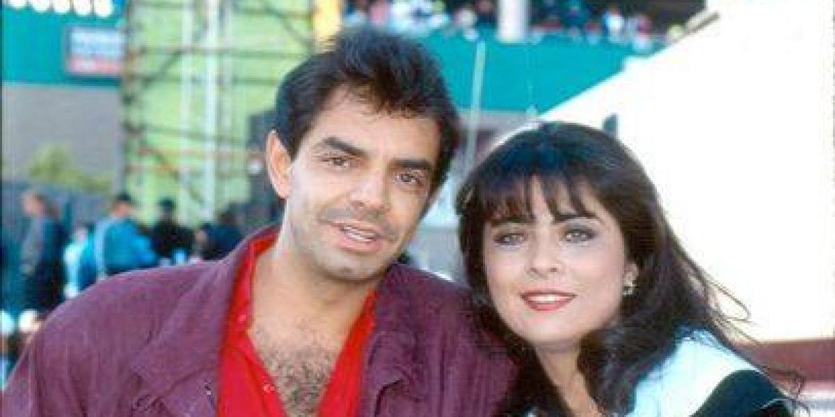 Critican a Victoria Ruffo por borrar a Eugenio Derbez de una foto