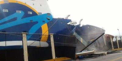 Empresa asumirá gastos por el accidente del Ferry