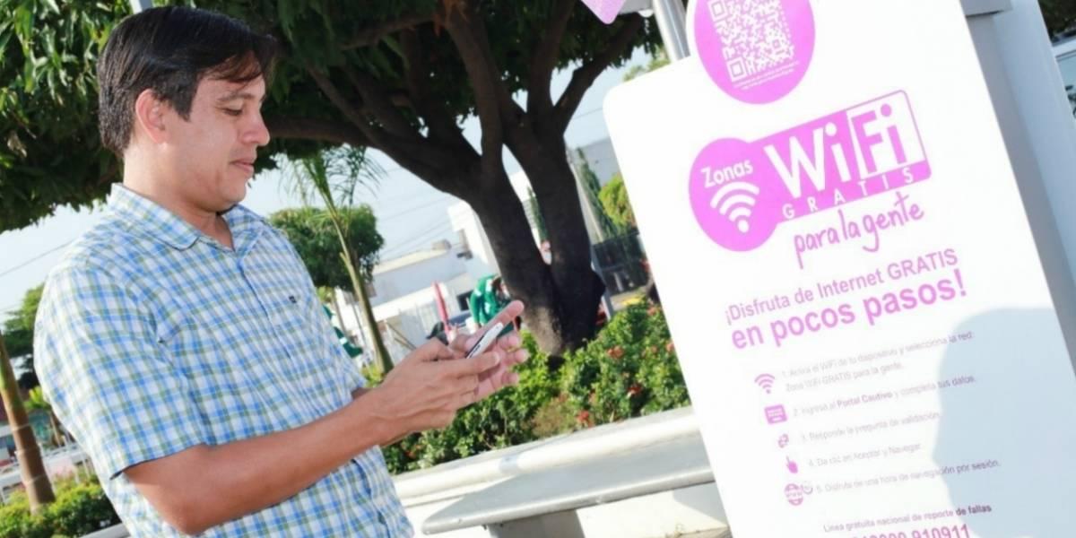 Habilitan 16 nuevas zonas WiFi en parques de Barranquilla