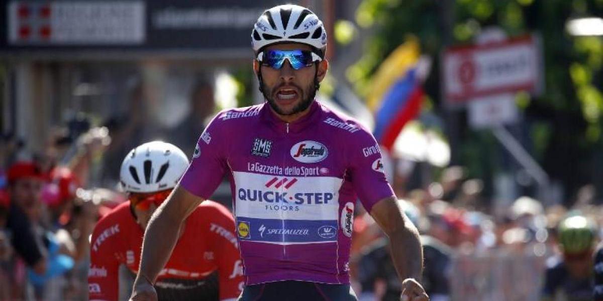 Fernando Gaviria sigue sorprendiendo y ganó otra etapa en el Giro de Italia