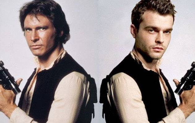 Star Wars: se filtran fotos del rodaje de Han Solo