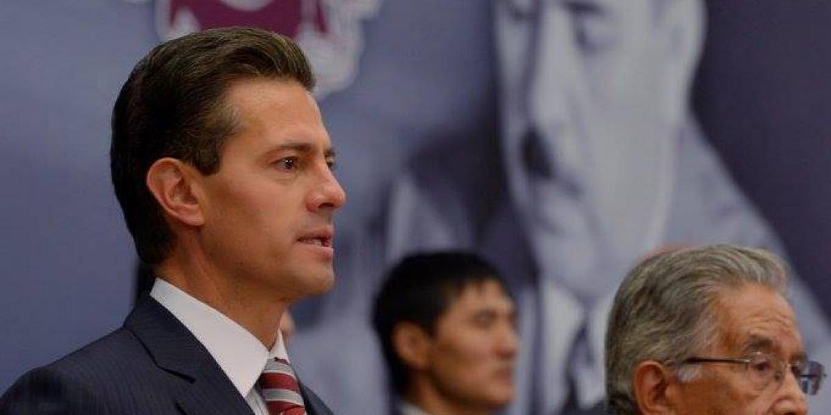 México recibe de manera positiva intención de EU de modernizar el TLCAN: Peña Nieto