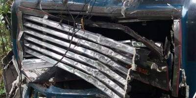 Accidente de autobús en Chimaltenango deja seis heridos