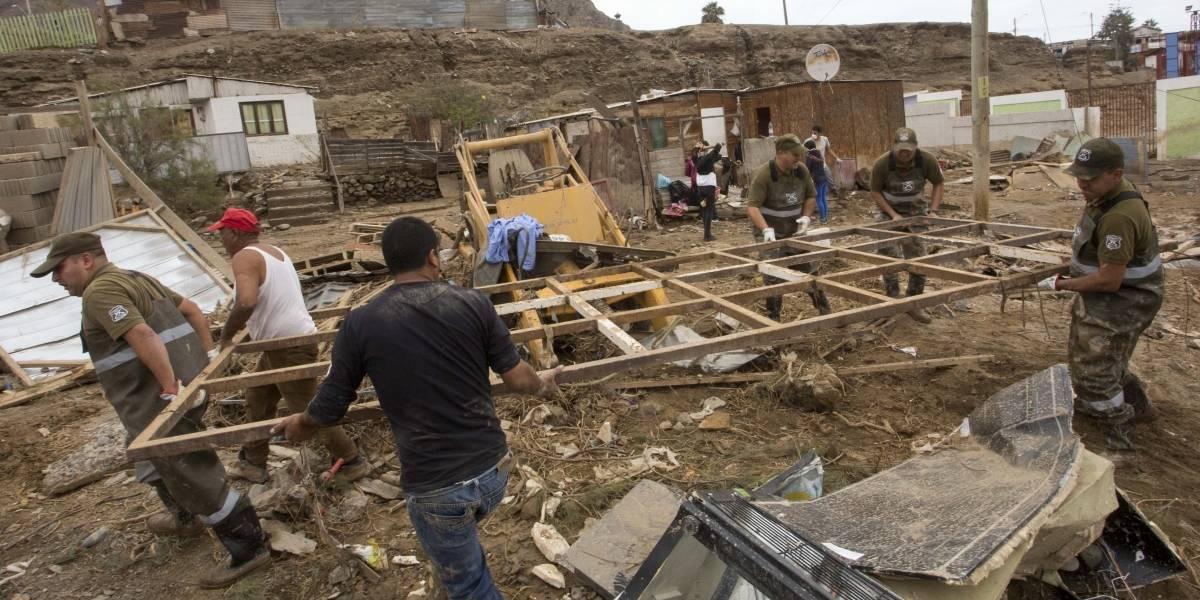 Ministra de Vivienda plantea un trabajo en conjunto con empresas para reconstruir Atacama