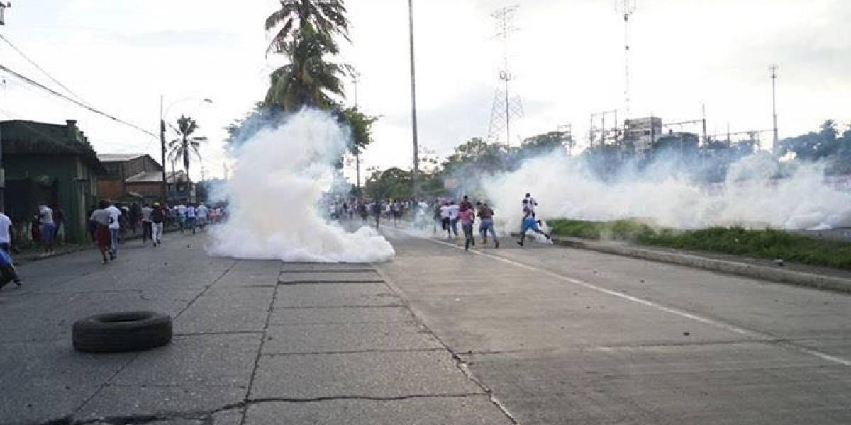 Denuncian ataques del Esmad a personas que protestaban en Buenaventura