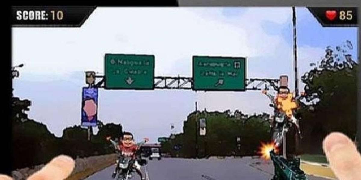 """""""Chavista attack"""", el videojuego por el que un venezolano terminó preso"""