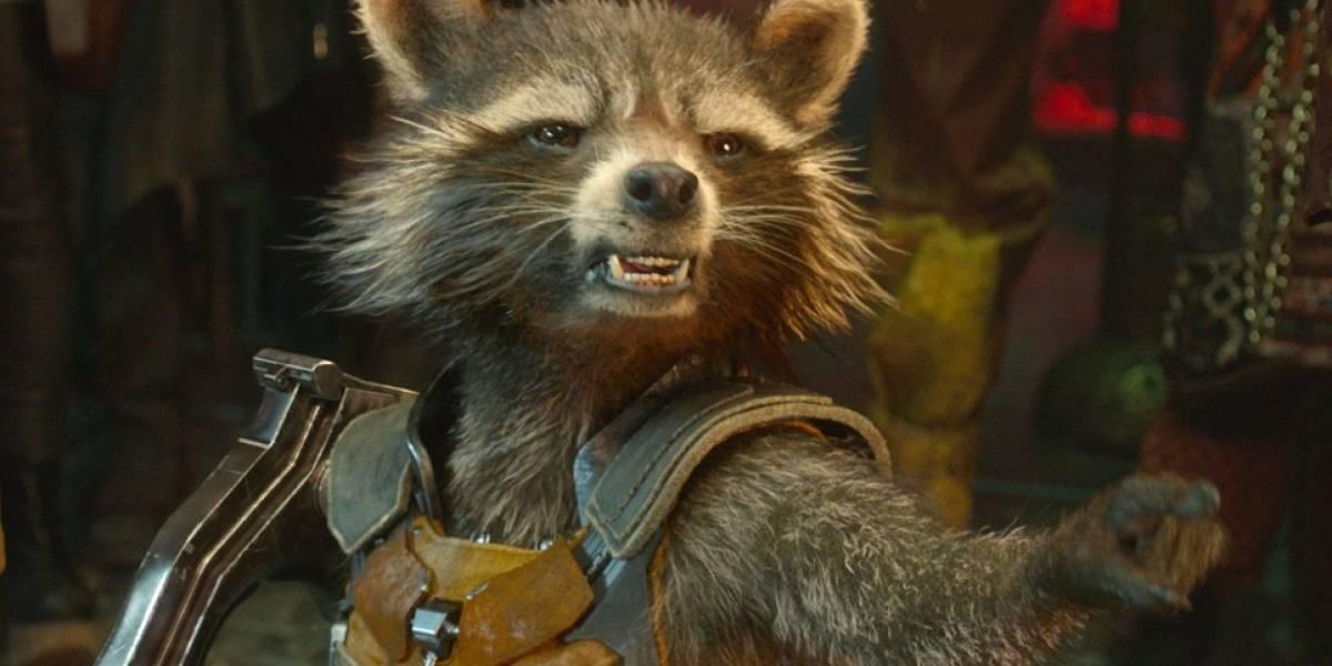 Rocket es captado en el set de Avengers: Infinity War