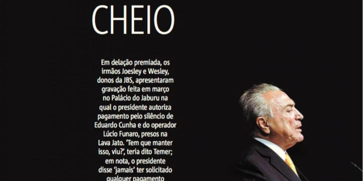 Así ve Metro Jornal la nueva crisis política que enfrenta Brasil