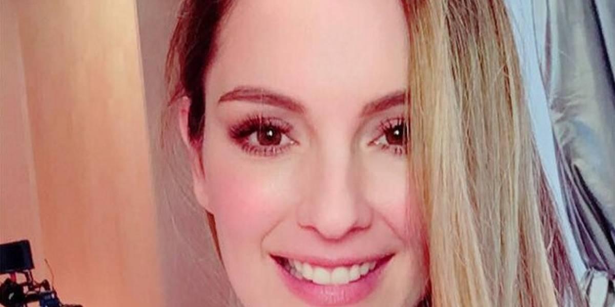 """Claudia Bahamón responde a las críticas por su """"foto vulgar"""""""