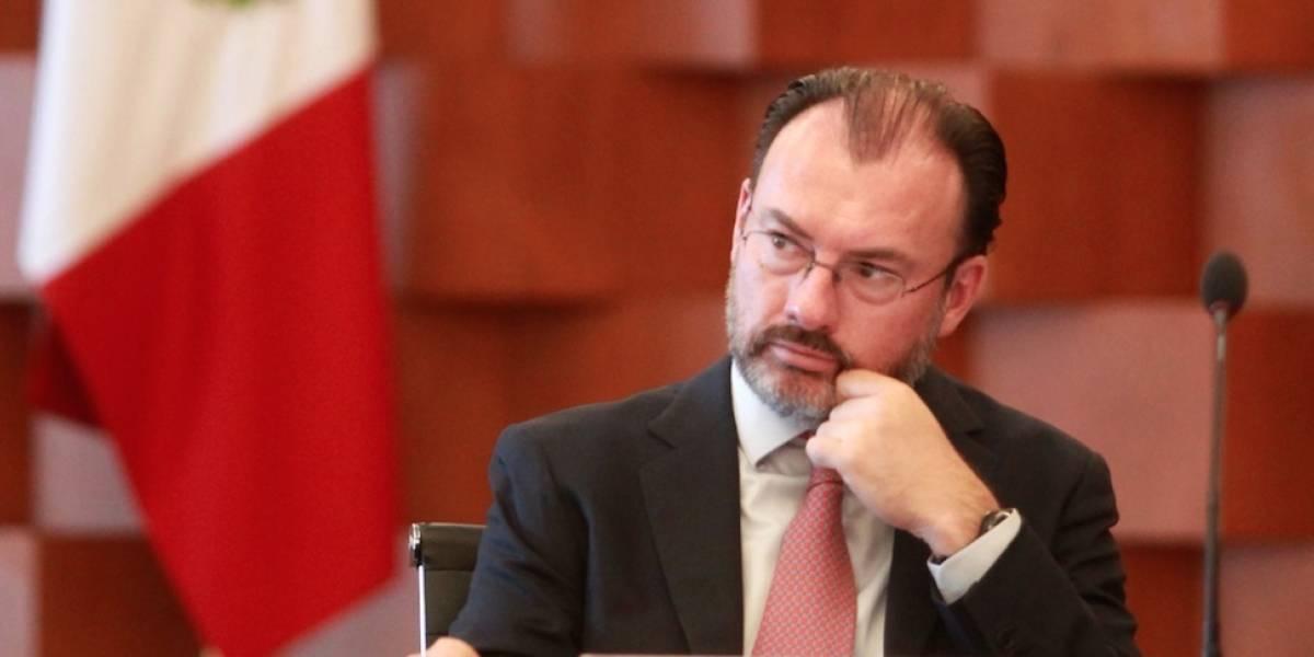 Videgaray advierte que no aceptarán restricciones o aranceles en nuevo TLCAN