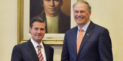 Peña Nieto recibe al Gobernador de Washington