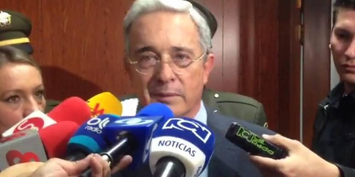 Expresidente Álvaro Uribe pidió perdón a madres de Soacha