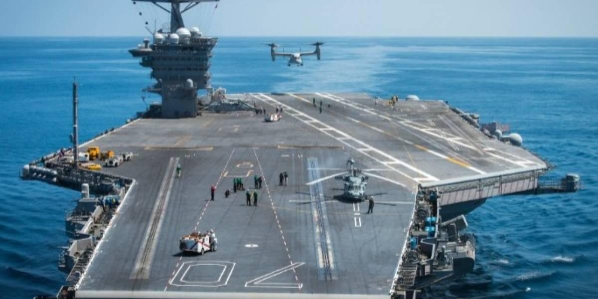 USS Ronald Reagan se suma a la flota: EEUU envía segundo portaaviones nuclear a la península de Corea