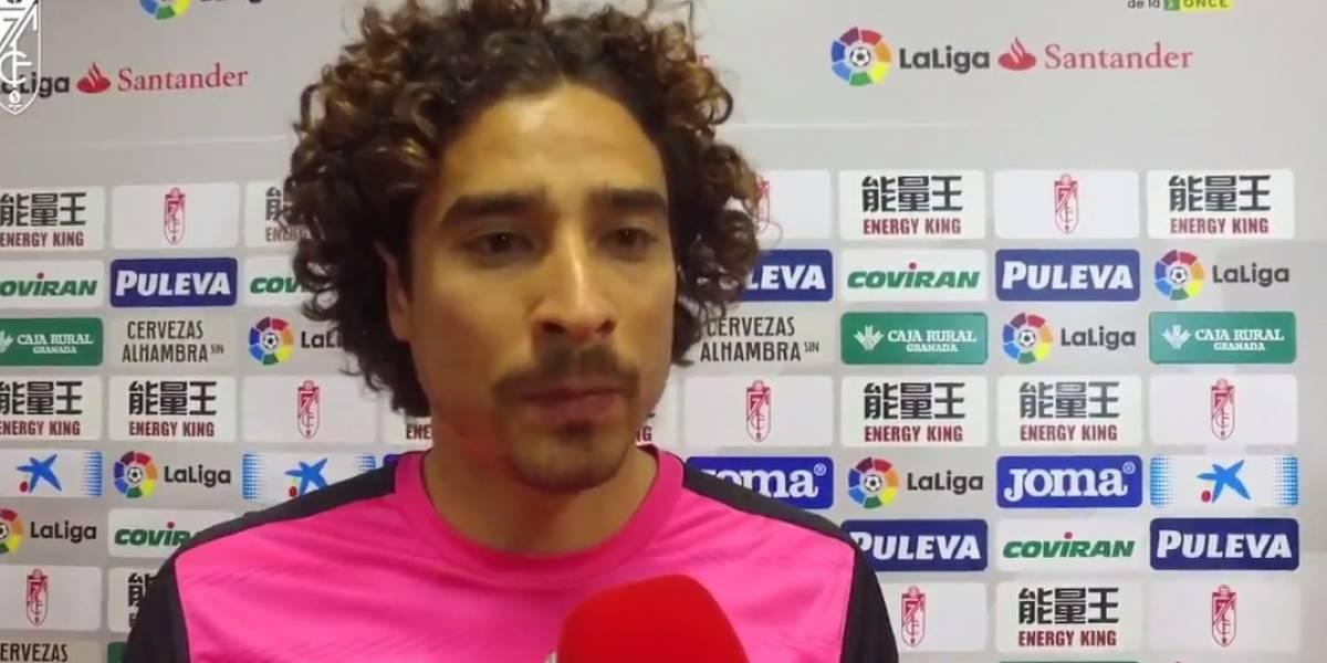 """""""Me voy dolido"""", así se despidió 'Memo' Ochoa del Granada tras la derrota ante el Espanyol"""