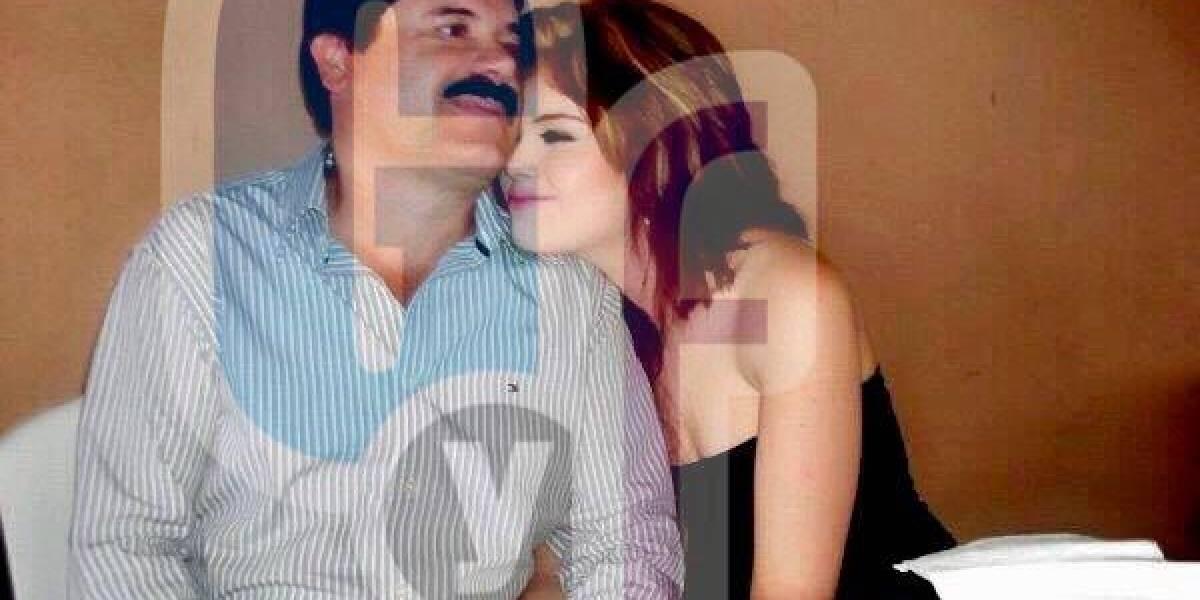 Publican fotos de Joaquín 'El Chapo' Guzmán con su novia