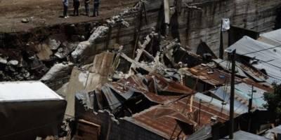 VIDEO. Alcalde de Villa Nueva comparte imágenes captadas por un dron en el lugar del derrumbe