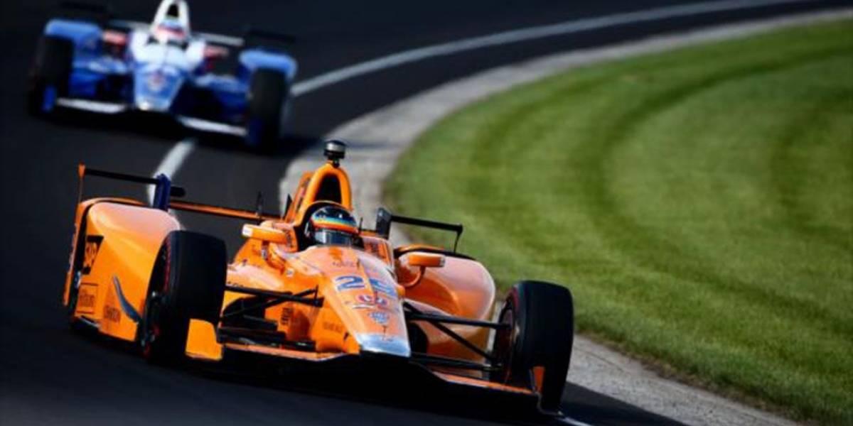 Alonso volta a ficar em quarto no quinto dia de treinos para a Indy 500