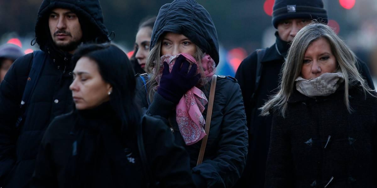 Santiago registra temperatura más baja del año y heladas se mantendrán hasta el sábado