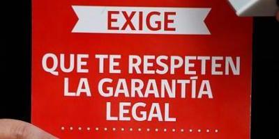 Sernac denuncia a 46 locales comerciales por no respetar el derecho de garantía legal
