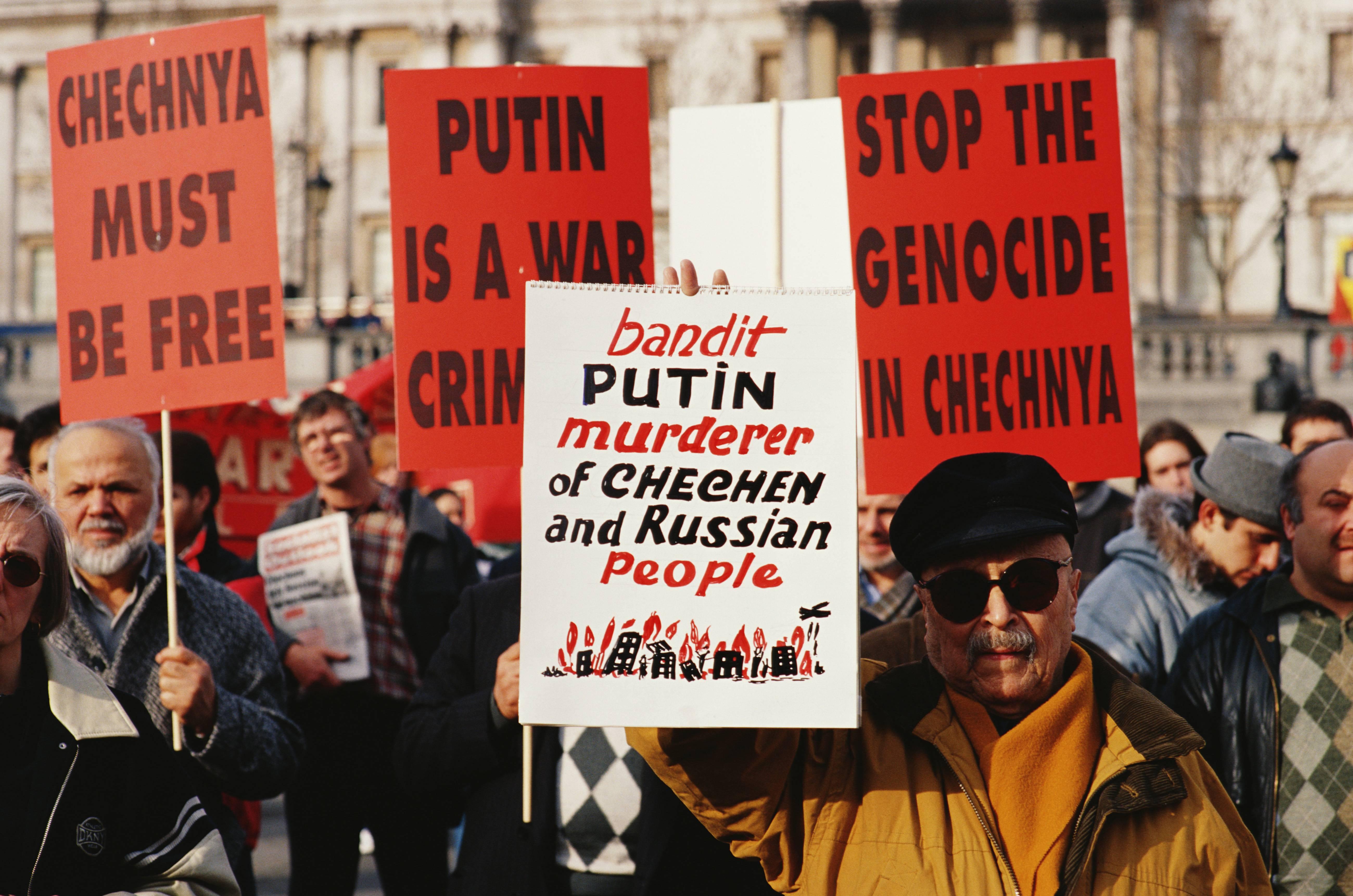 Chechnyan Demonstration