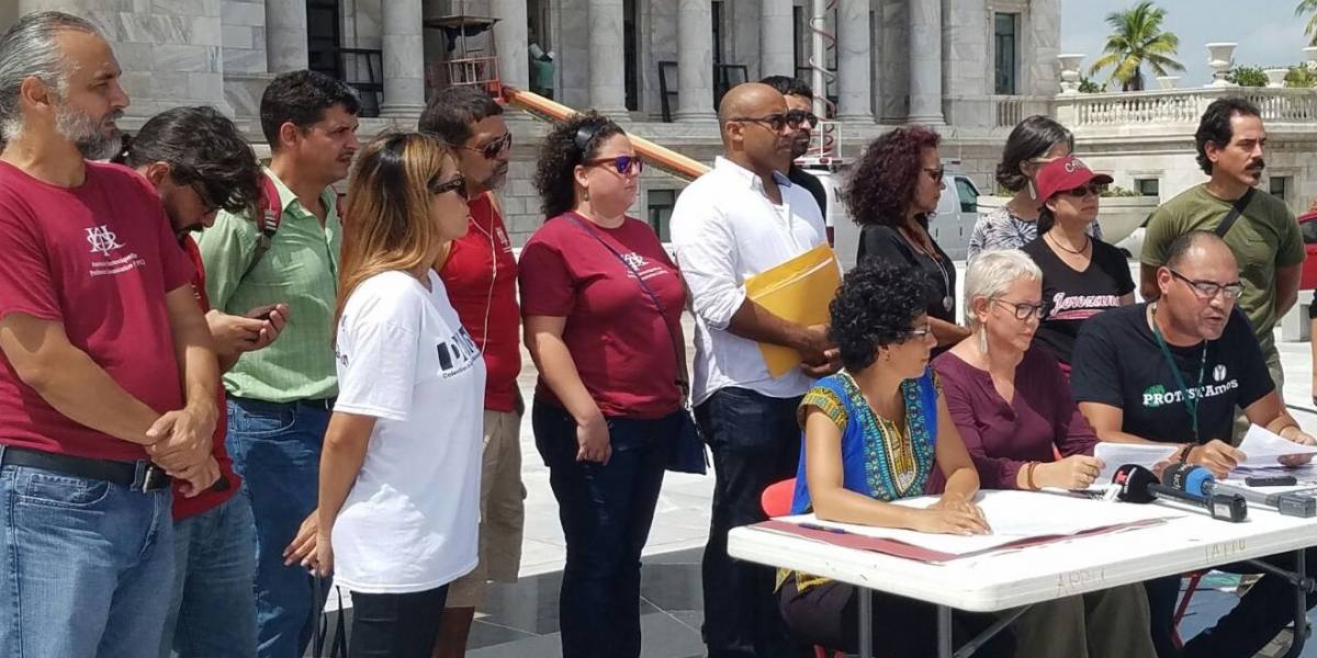 Docentes sin plaza de la UPR se organizan a nivel nacional