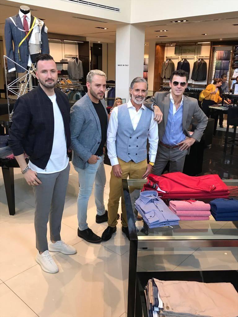 Juanchi Torre, Pei Garza, Carlos Bisdikian y Leonardo García, quienes son los embajadores de la marca. Publimetro