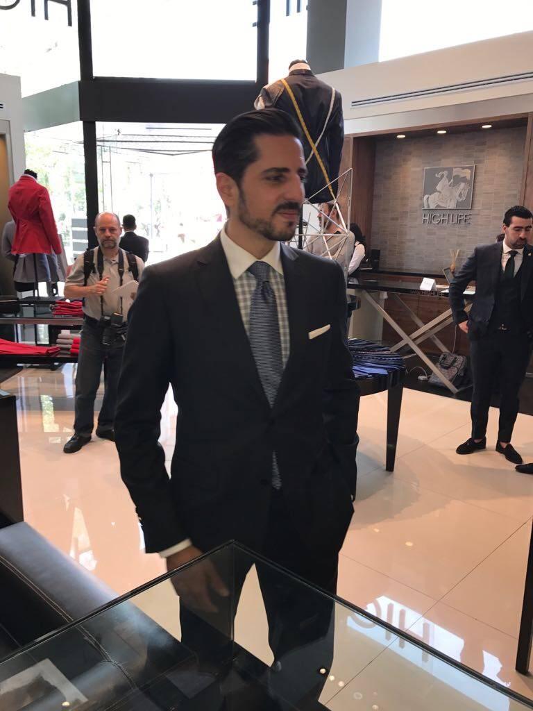 Alberto Mansur, Brand Manager High Life. Publimetro