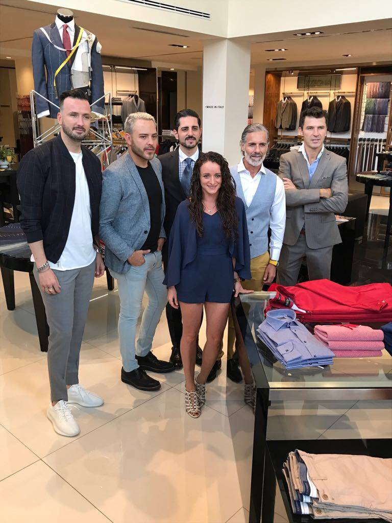 Juanchi Torre, Pei Garza, Alberto Mansur, Jeannette Haber Carlos Bisdikian y Leonardo García. Publimetro