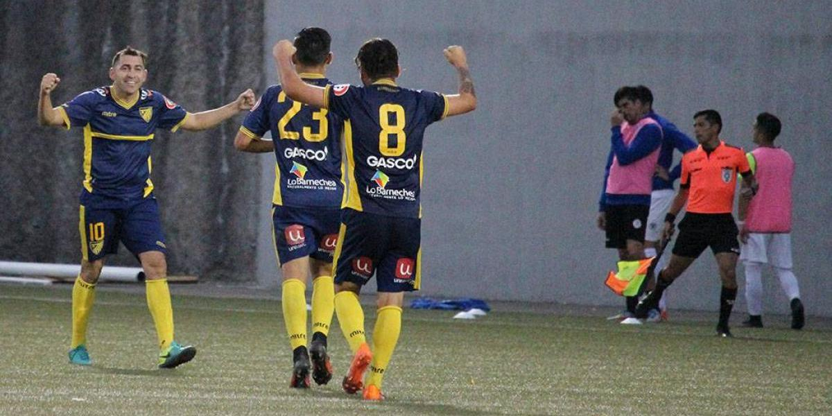Barnechea aprovechó la farra de Melipilla y subió a Primera B con goleada ante Naval