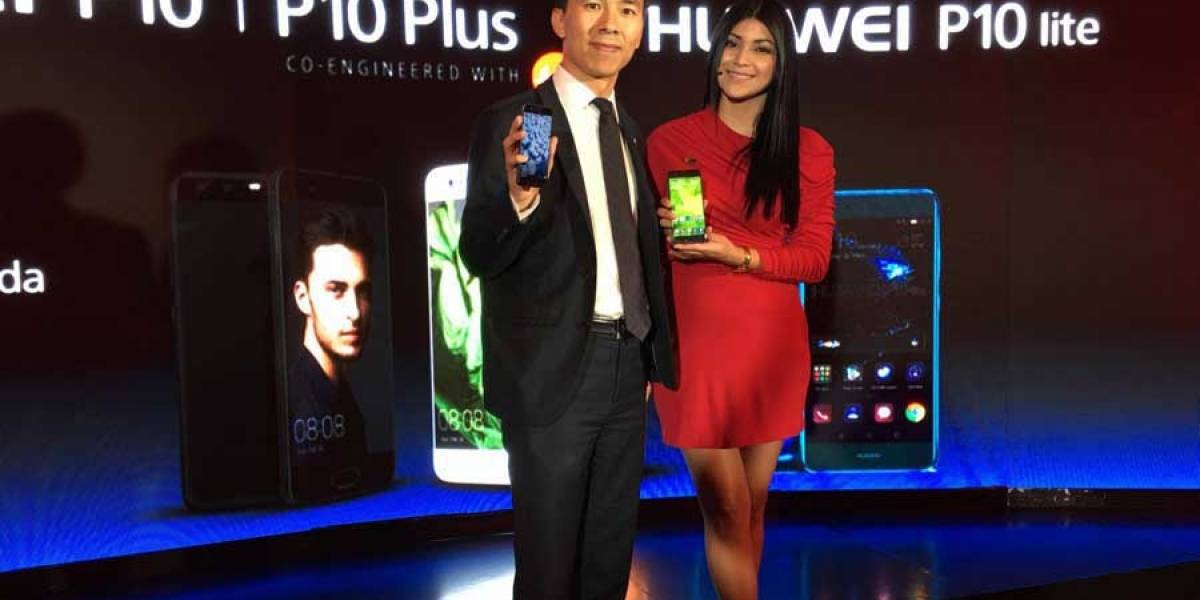 Huawei lanza el innovador smartphone P10 con cámara Leica