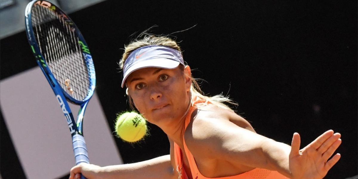 Maria Sharapova se armó de orgullo y tomó esta decisión