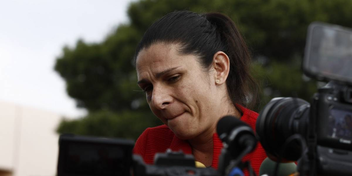 Indigna a Ana Gabriela Guevara la liberación de agresor